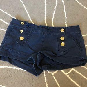 Express sailor shorts sz 8 navy